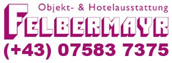 Objekt & Hotelausstattung Felbermayr-Logo