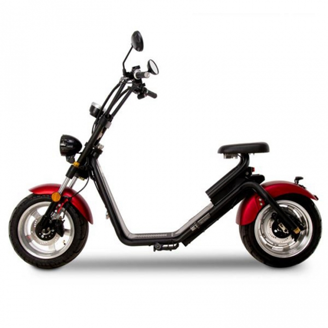 City Scooter RED 25 km/h 600 Watt